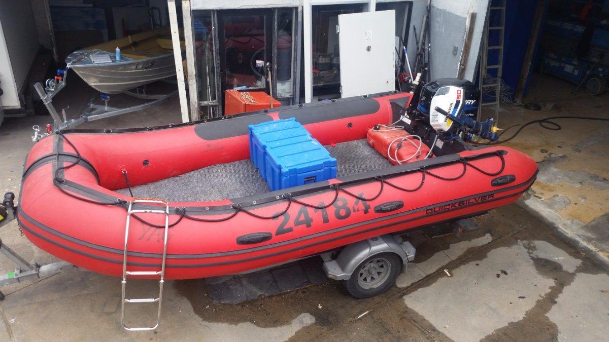 Quicksilver Quicksilver inflatable 4.7m in 2c 2d 3c survey