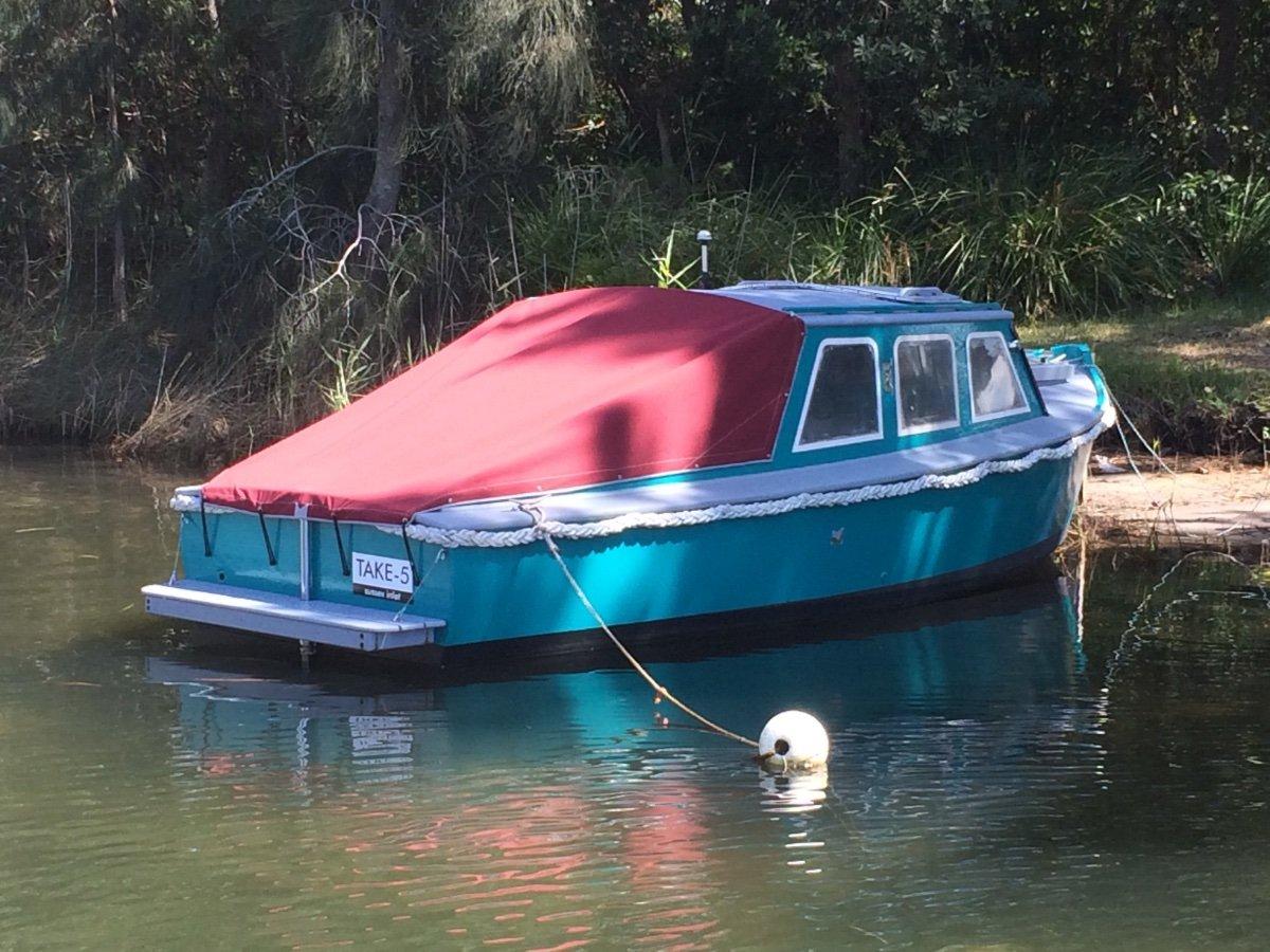 1940's River Boat
