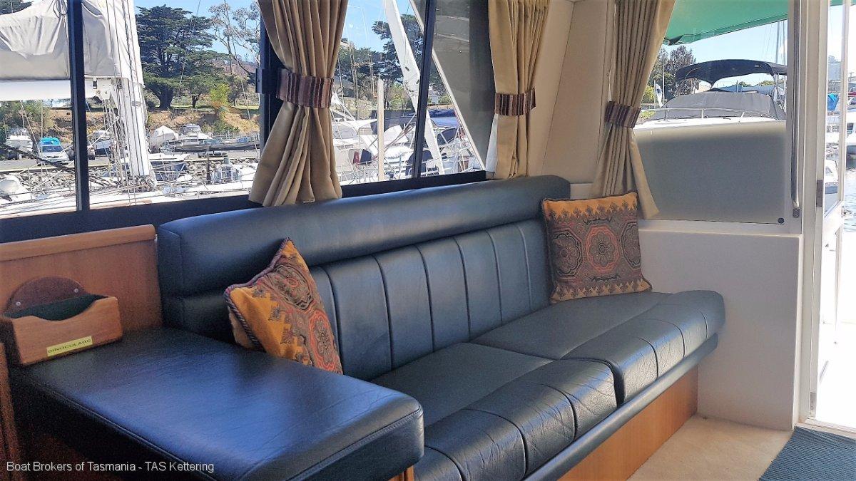 Riviera 36 Platinum single cabin. Cummins diesels, ready for summer.