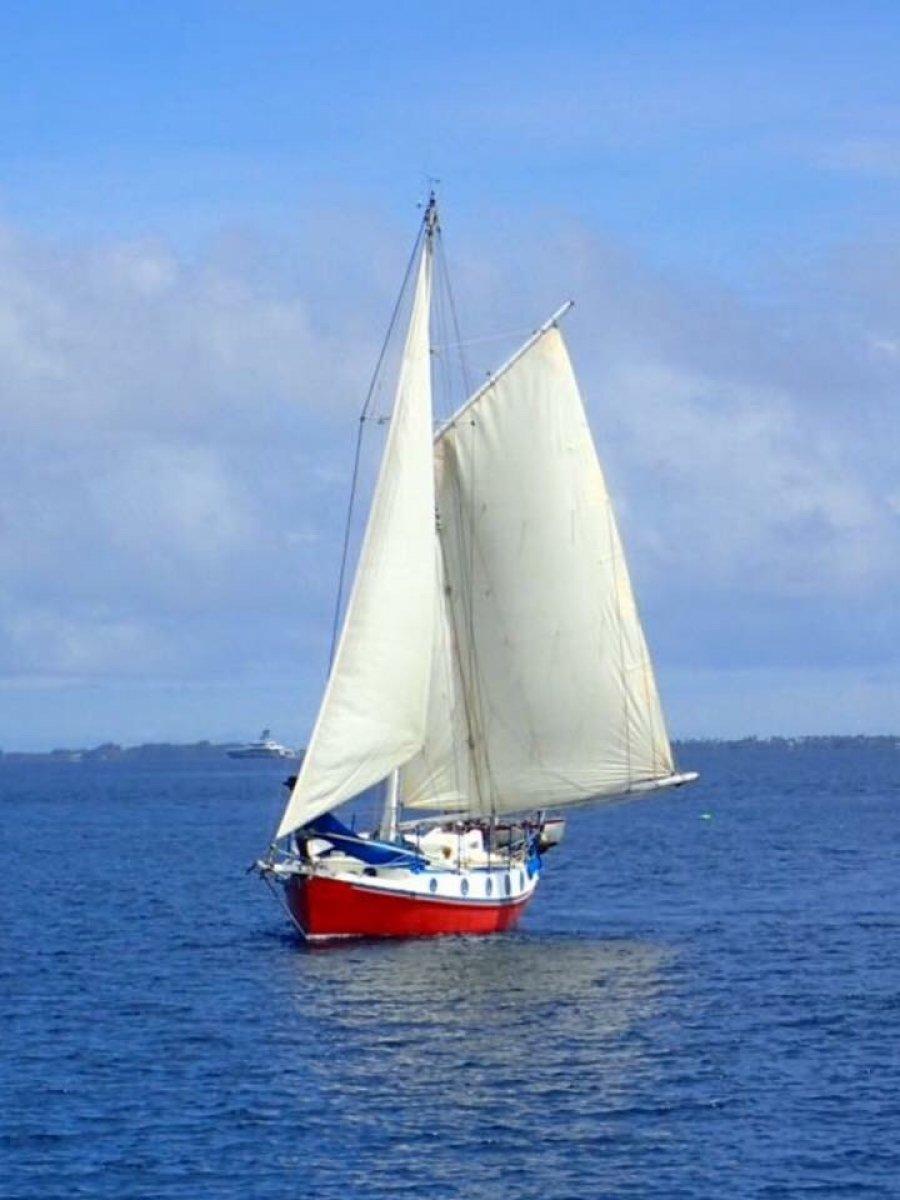 Wylo II gaff cruising yacht