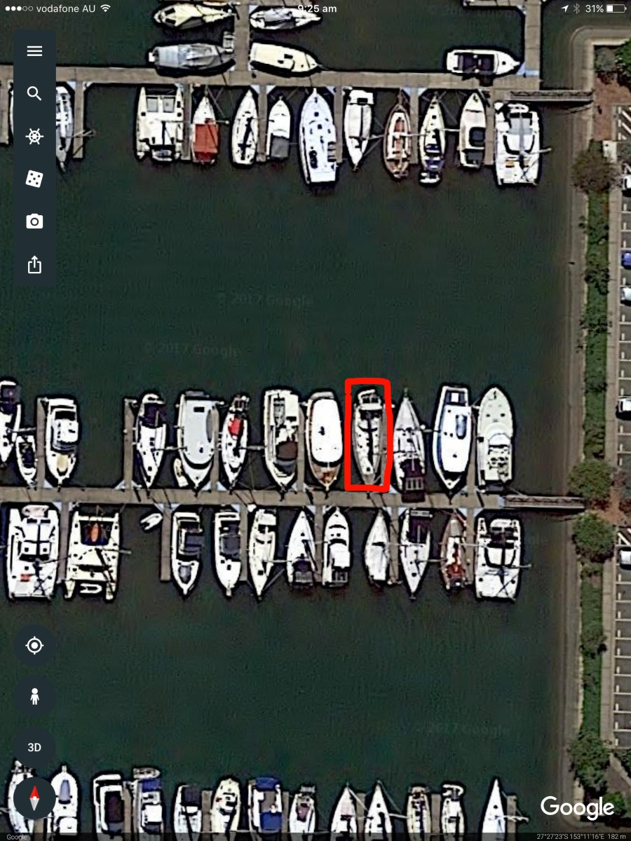 14m Berth at WMYC, Manly, Brisbane, QLD