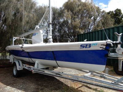 Laser SB20 MUST SELL BY INTERSTATE OWNER