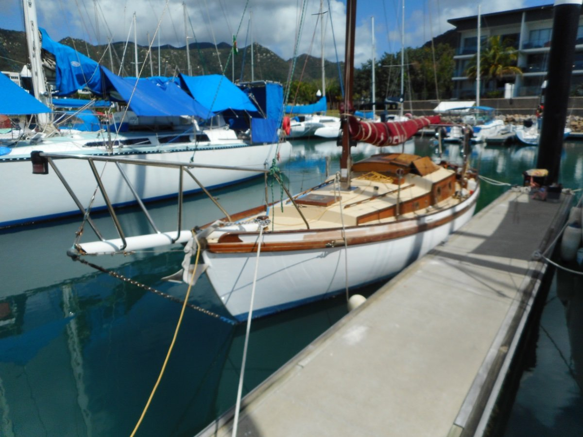 Custom 28ft Modified Rugged Class Wooden Yacht