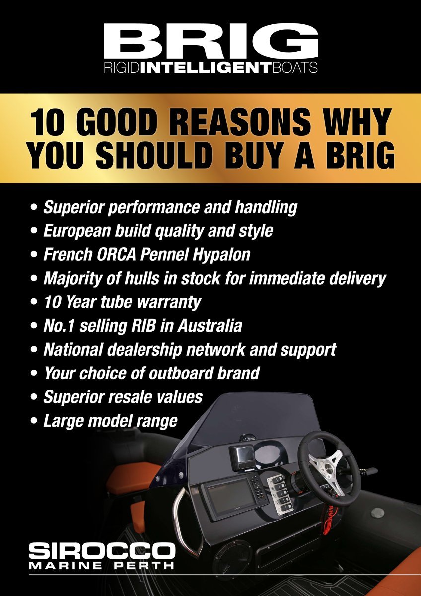 Brig Eagle 10 Rigid Inflatable (RIB) - IN STOCK