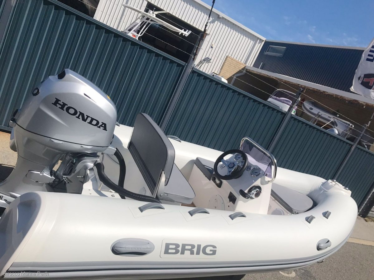 Brig Falcon 380HT Rigid Inflatable Tender RIB (IN STOCK)