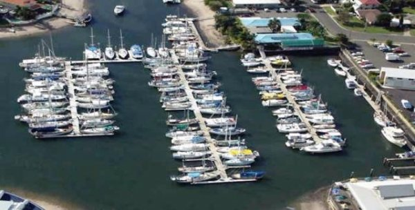 17 metre Marina Berth C21 at Kawana Waters Marina