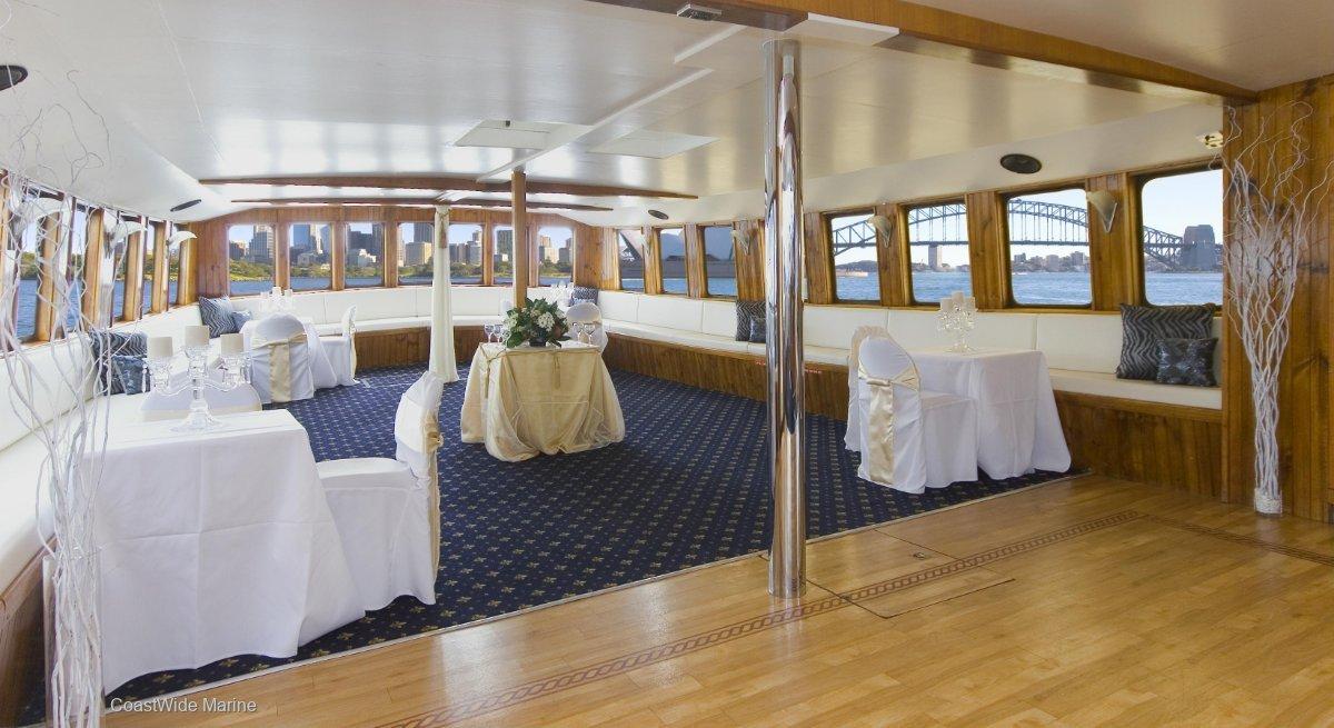 20M Charter Cruise Vessel -MV SYDNEY