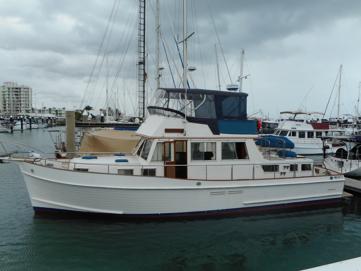 Used grand banks 46 classic for sale boats for sale for Grand banks motor yachts for sale