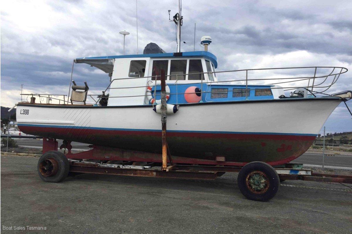 "35' Huon Pine Charter Boat ""Scandia"""