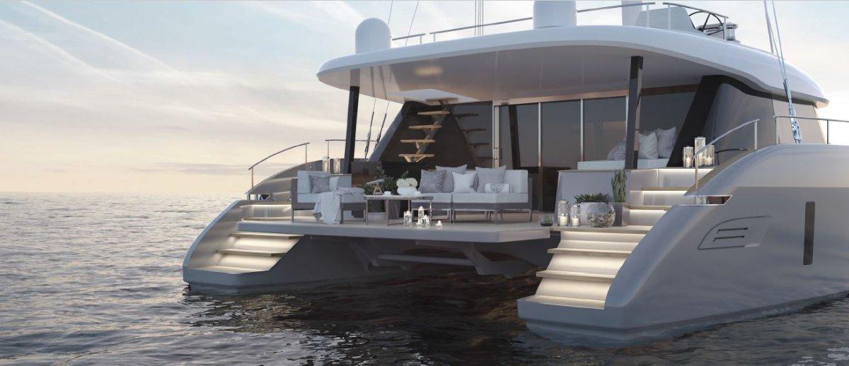 Sunreef Yachts 50 sailing