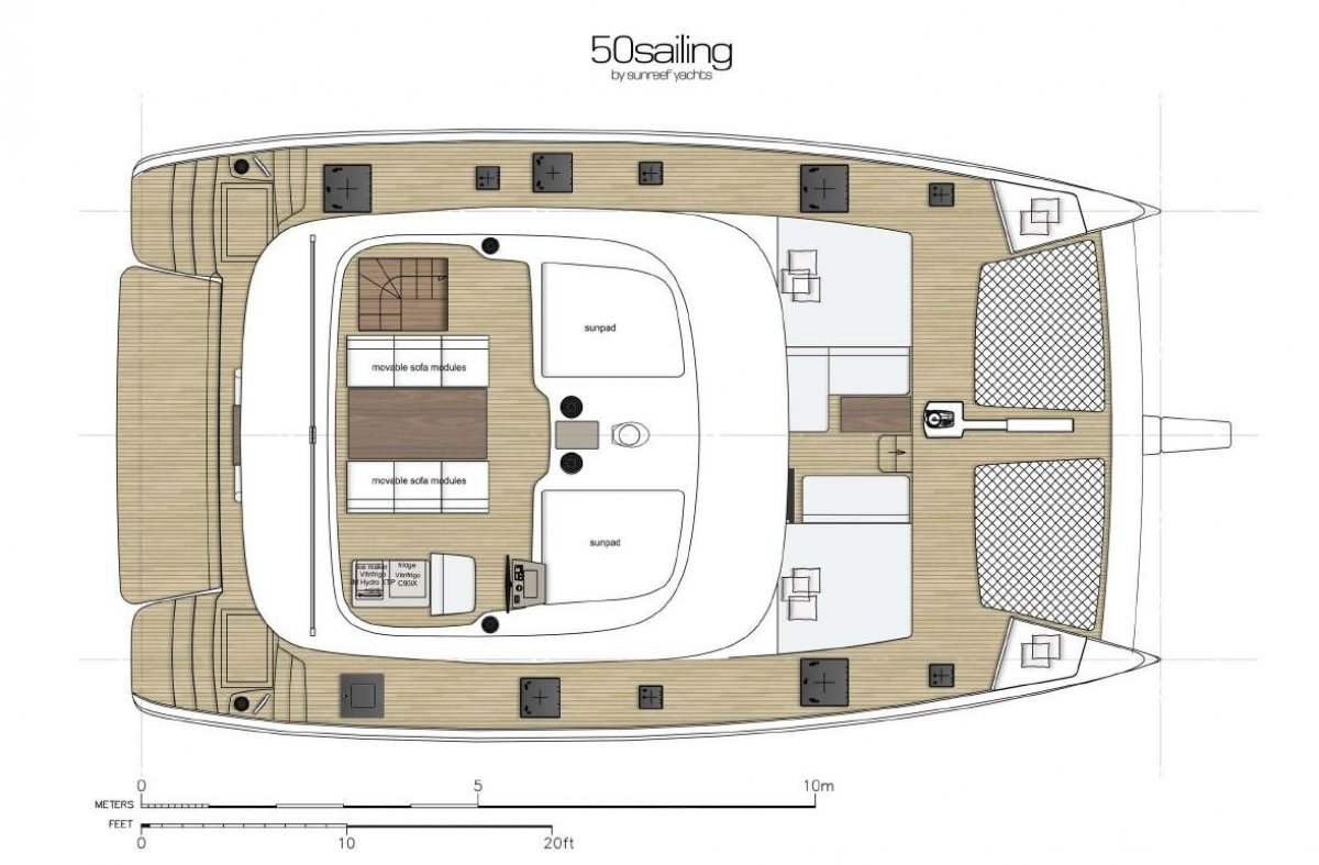New Sunreef Yachts 50 Sailing: Sailing Catamaran for Sale