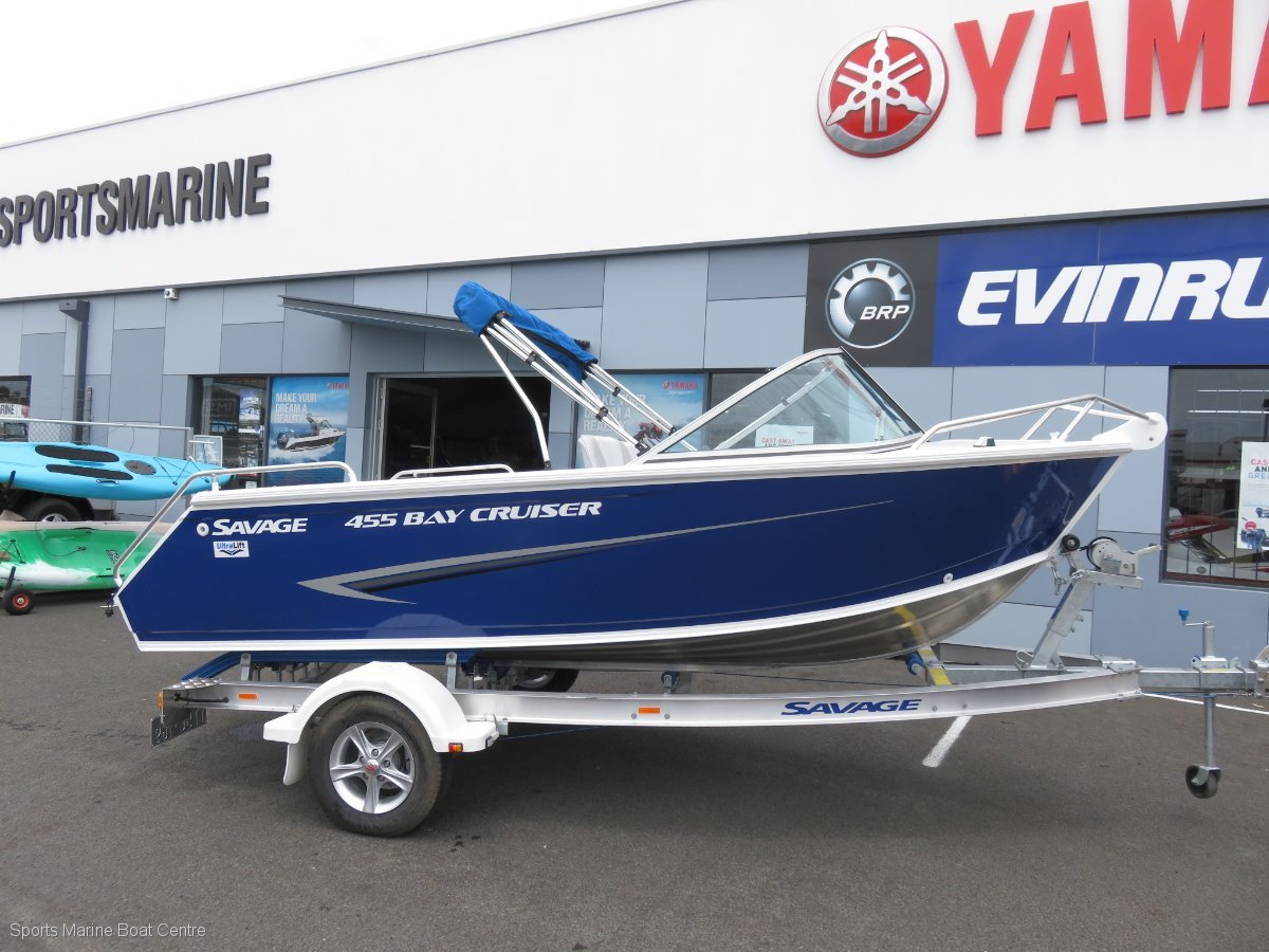 Savage 455 Bay Cruiser