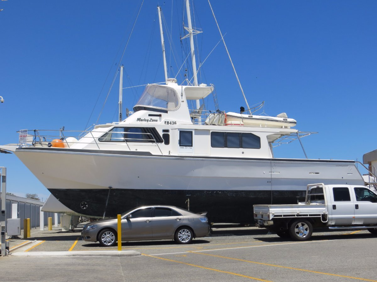 Conquest 55 Spectacular converted Liveaboard - long distance