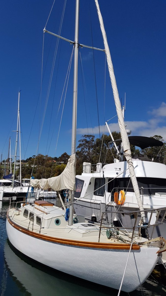 Buchanan Viking 31 Huon Pine sloop