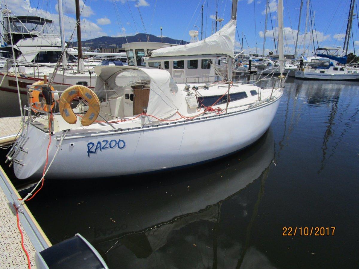 Doven 30 Popular Tassie designed + built cruiser/club racer