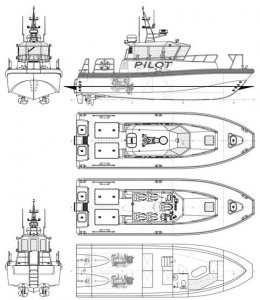 - 12.6m Aluminium Pilot Boat
