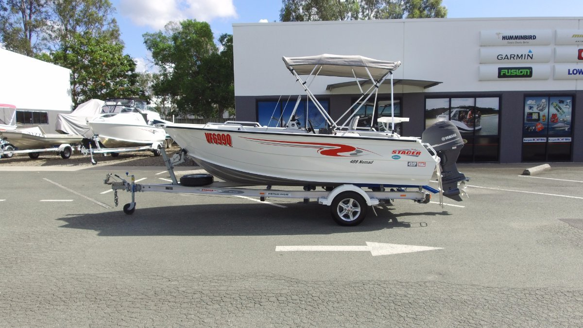 Stacer 489 Nomad + Yamaha F70AETL 70hp Four Stroke