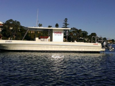 Vickers 33 BBQ pontoon In National Survey 4E & 2E.