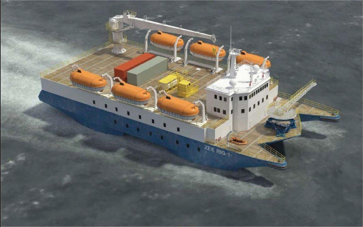 Accommodation / Multiservice Vessel