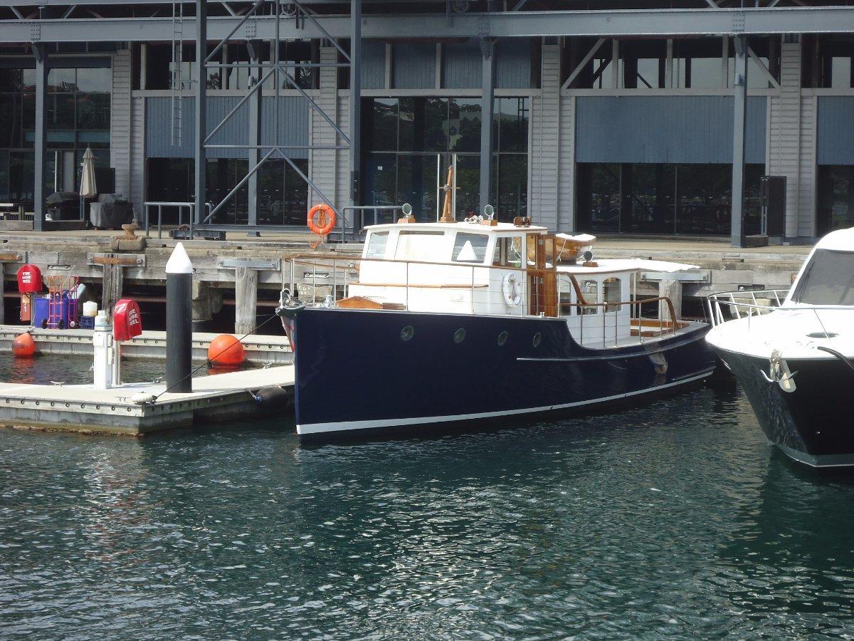 Timber Motor Yacht