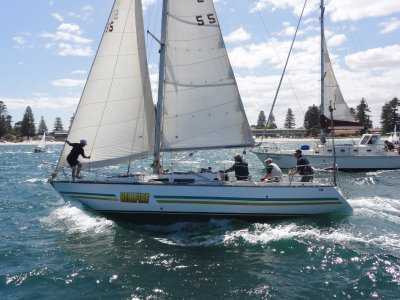 Ufo 34 Sloop- Click for more info...