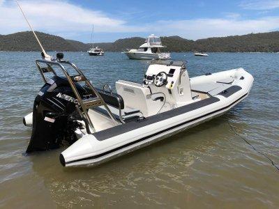 Ballistic 6.5 2018 Demo Boat with Mercury 200hp Verado