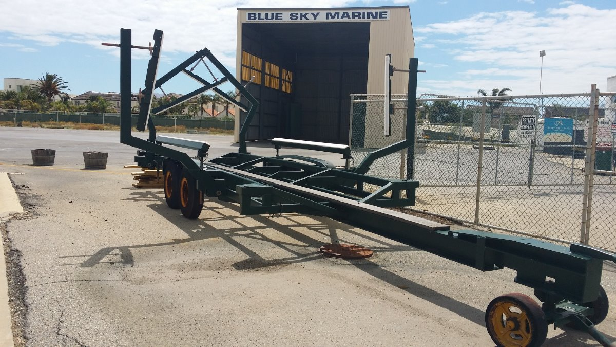 Boat Trailer - Display Trailer as New