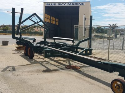 Yard Dolley - Display Trailer as New
