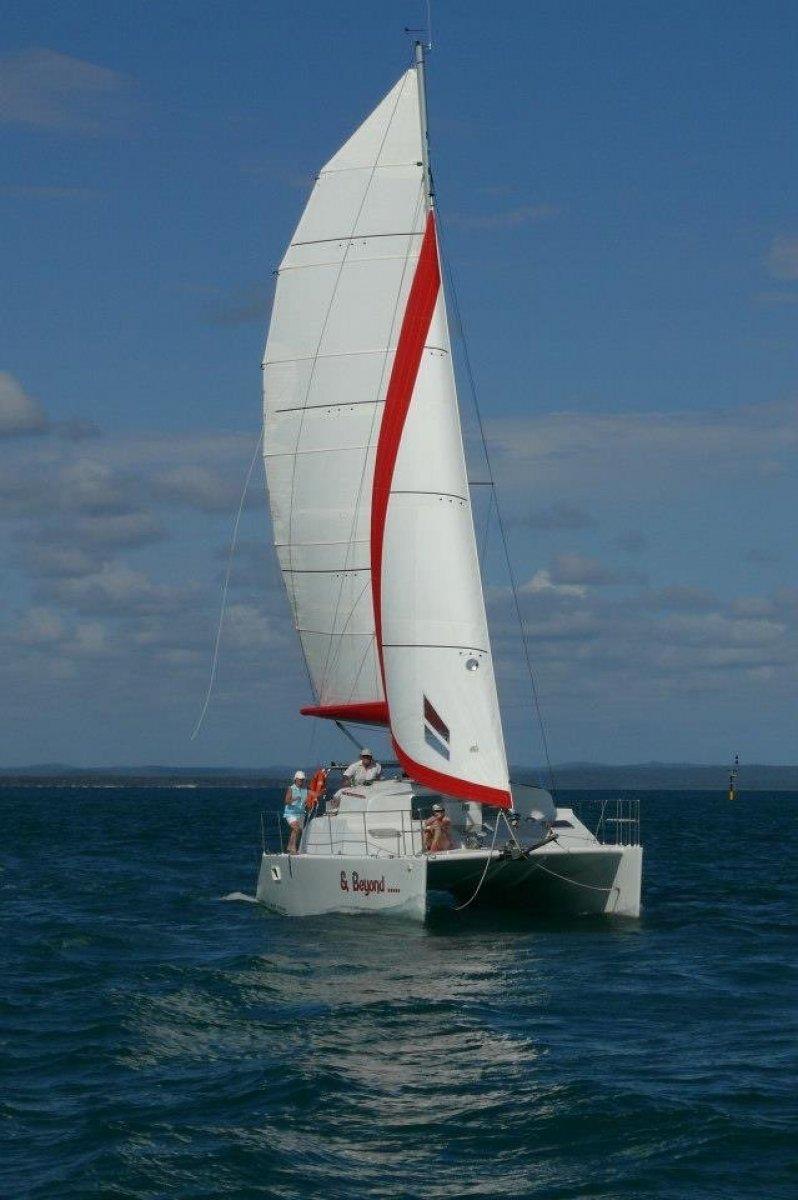Waller Catamaran Ten Reduced for immediate sale