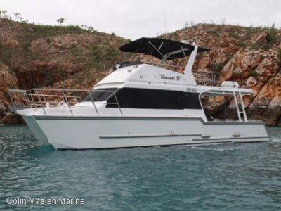 Aluminium 12m flybridge power catamaran