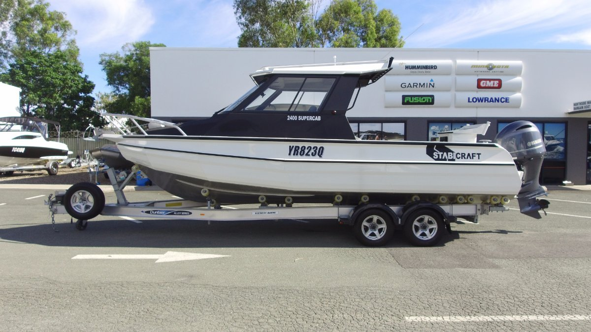 Stabicraft 2400 Supercab + Yamaha F200XCA 200hp 4-Stroke