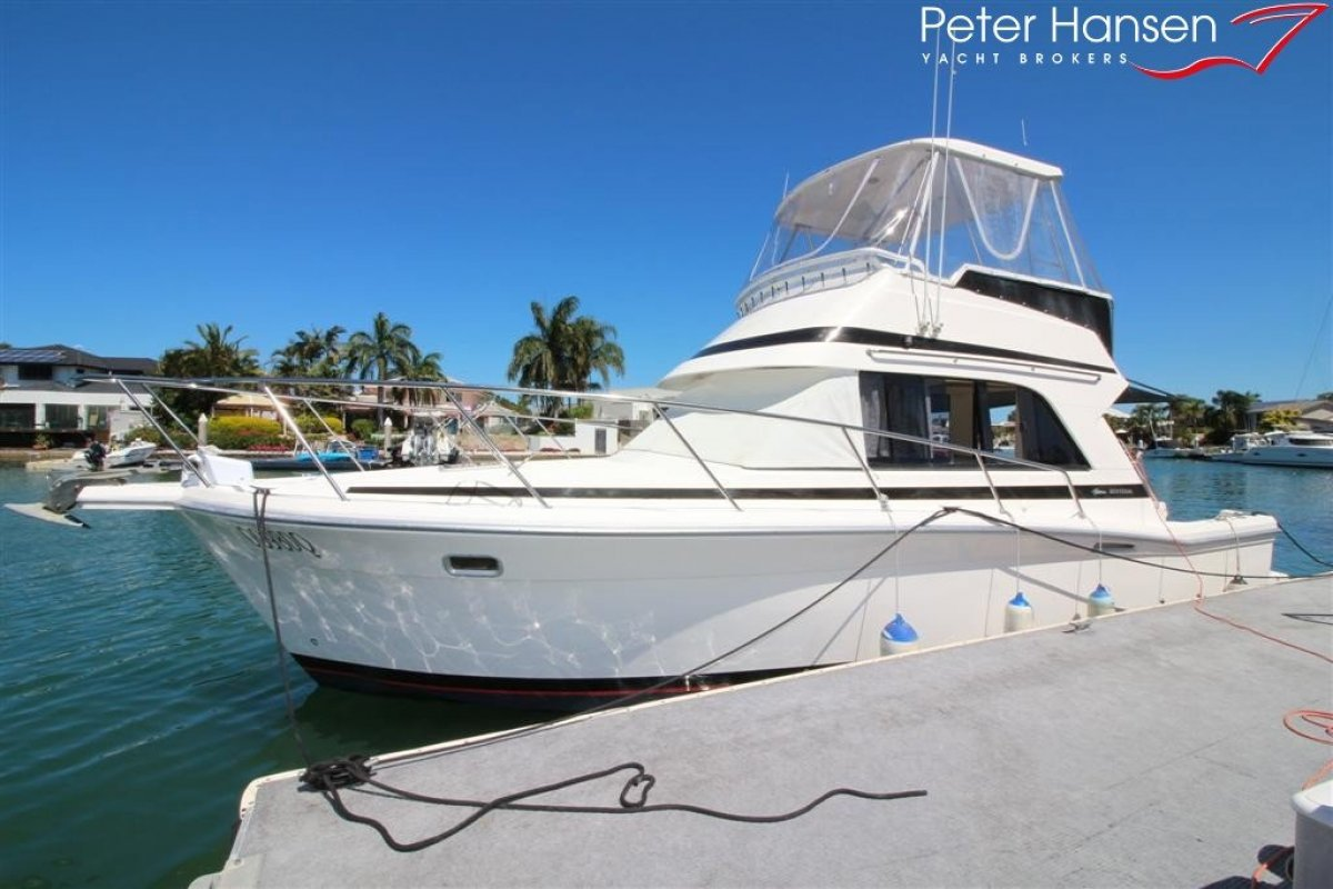 Riviera 3300 Flybridge with Hardtop and bigger engines!
