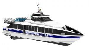20m Monohull Passenger Ferry
