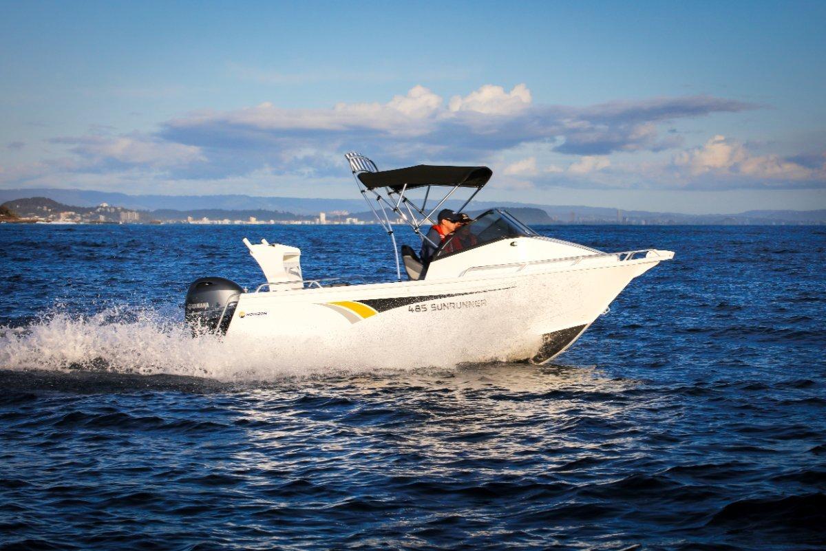 Horizon Aluminium Boats 485 Sunrunner powered with 70 HP 4 stroke Yamaha $39360.00