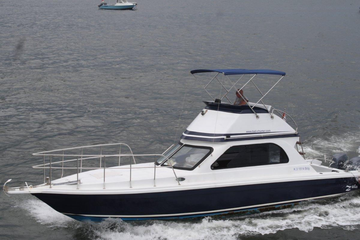 Bali Custom Builders Zula 39 Fly 11,5m Power-Boat with 2x 150HP Yamaha 4-stroke