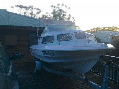 Swiftcraft Seagull Evinrude Etech 50HP Outboard low kms