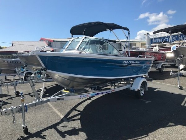 New Quintrex 430 Fishabout