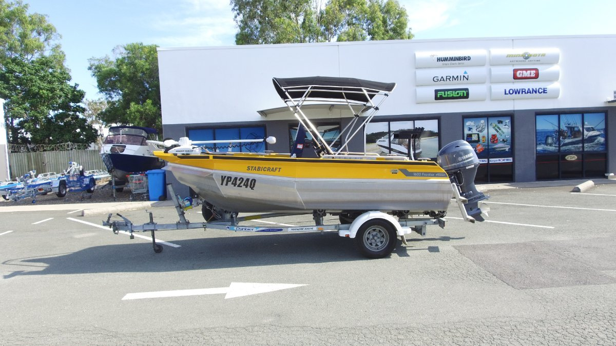Stabicraft 1600 Frontier + Yamaha F70LA 70hp Four Stroke