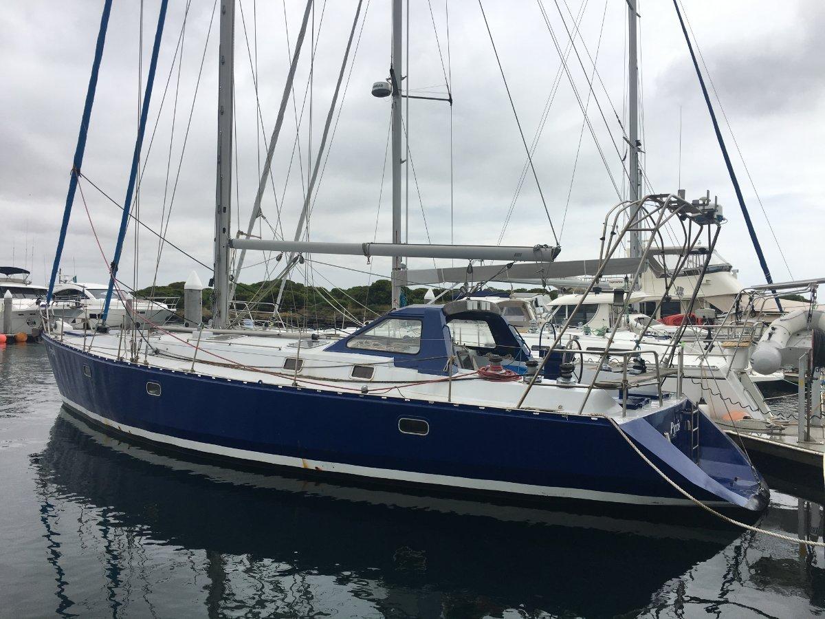 Van De Stadt 40 Steel 47' Live aboard sail the world