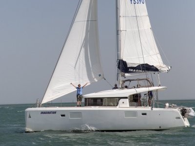 Lagoon 39 catamaran boat share with Yachtshare
