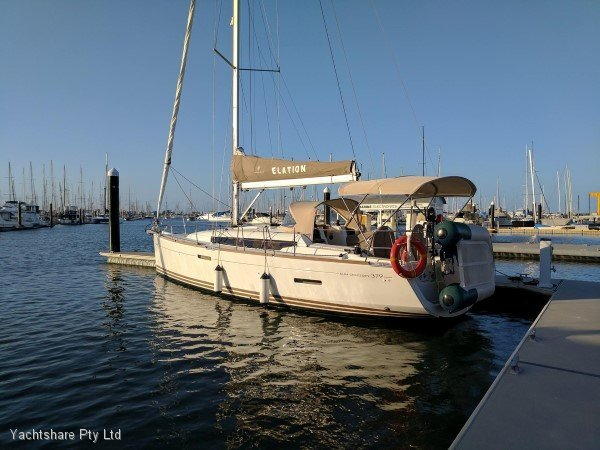 Jeanneau Sun Odyssey 379 boat share with Yachtshare.