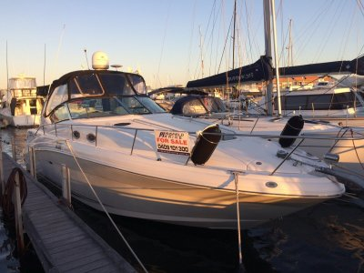 Sea Ray 375 Sundancer Twin Shaft Drive With Bow Thruster