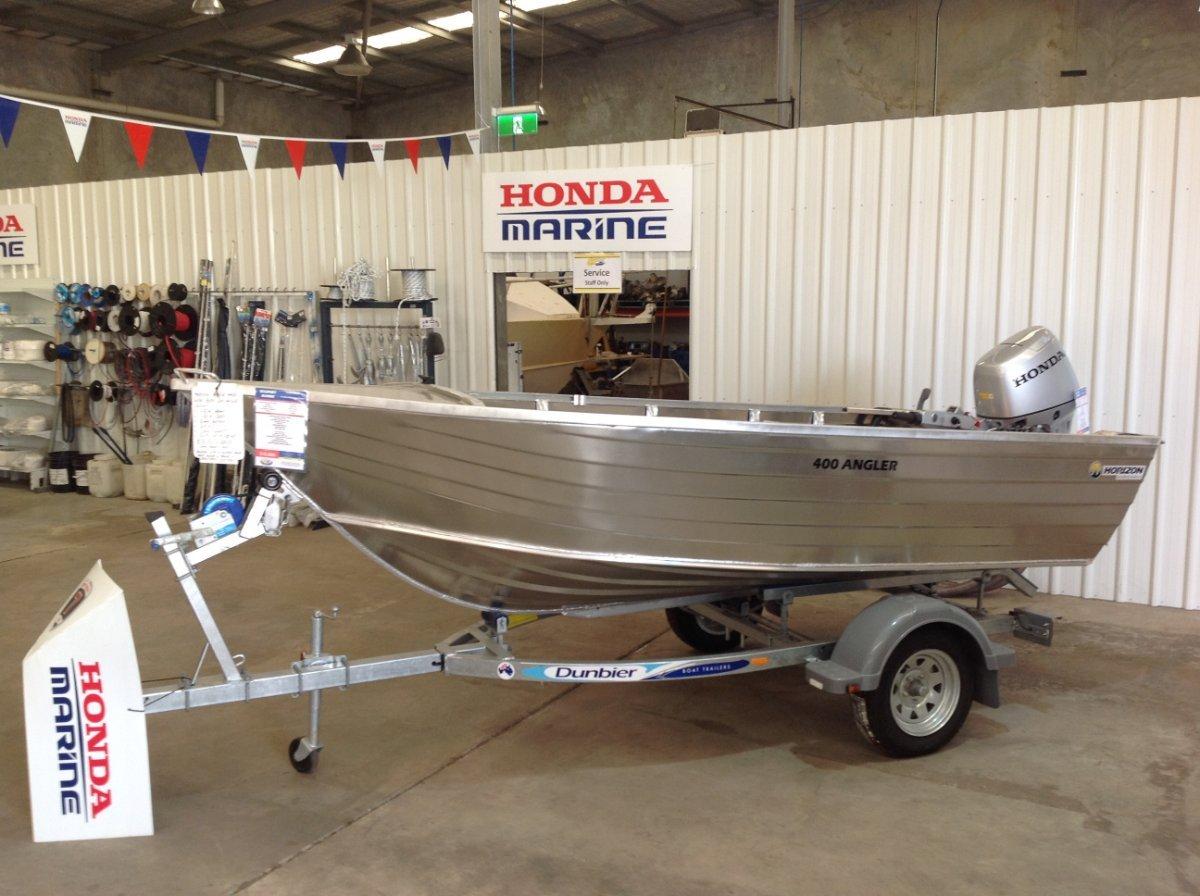 Horizon Aluminium Boats 400 Angler heavy duty dinghy