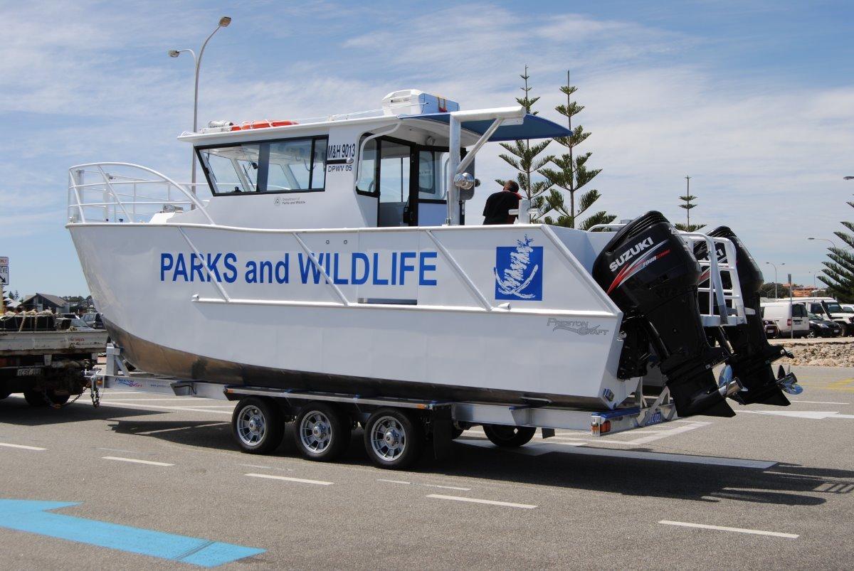 New Preston Craft 800 Commercial Catamaran