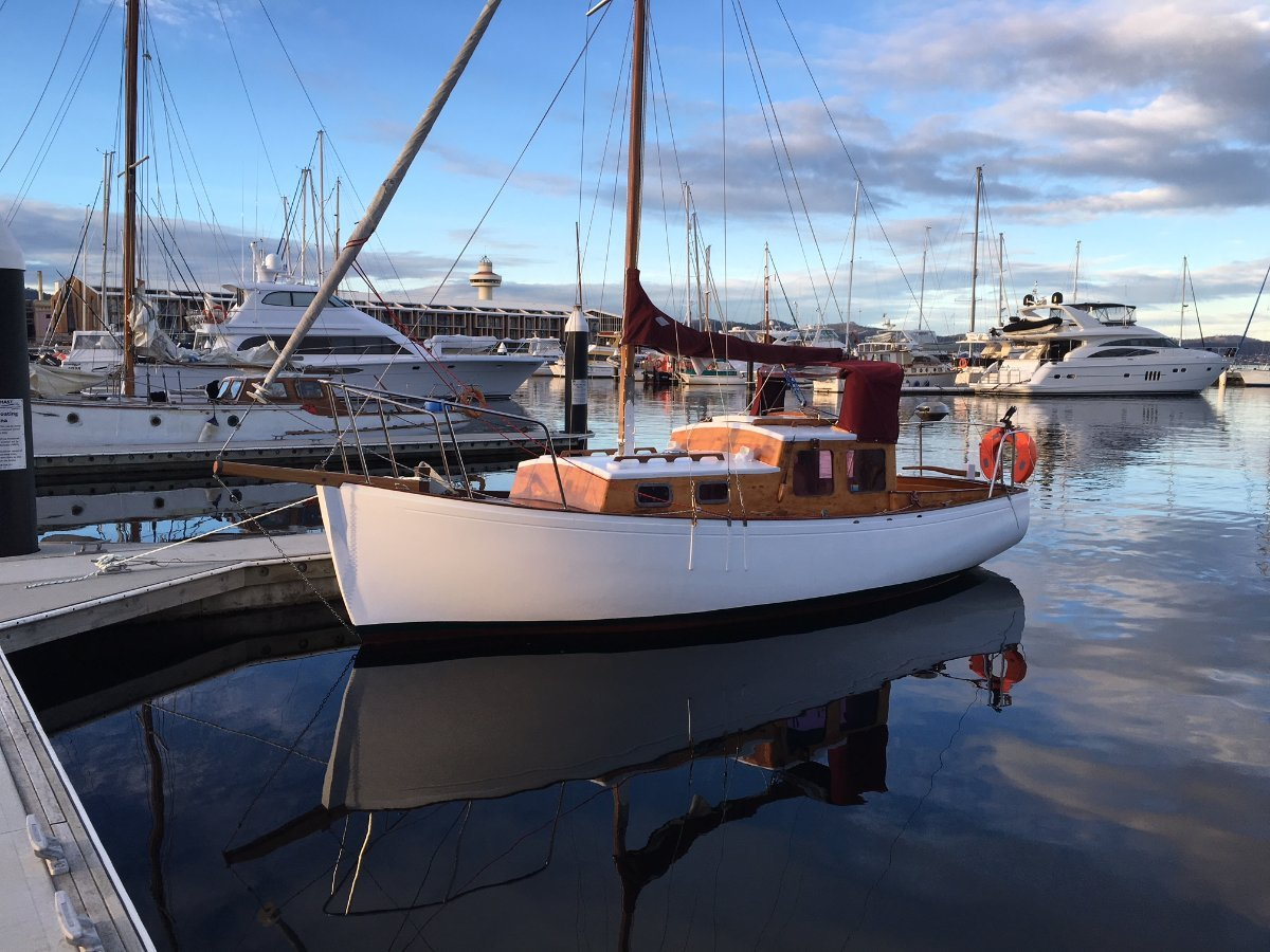 Jock Muir Tasmanian Timber Motorsailer PRICE NOW REDUCED, MAKE AN OFFER!!