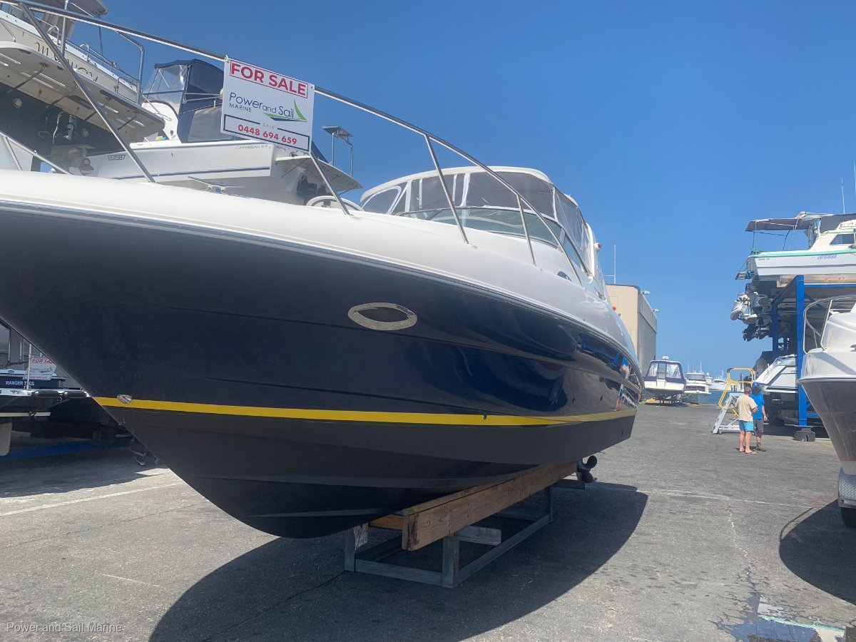 Riviera M290 Sport Cruiser PROJECT BOAT put a ripper brand back on the water.