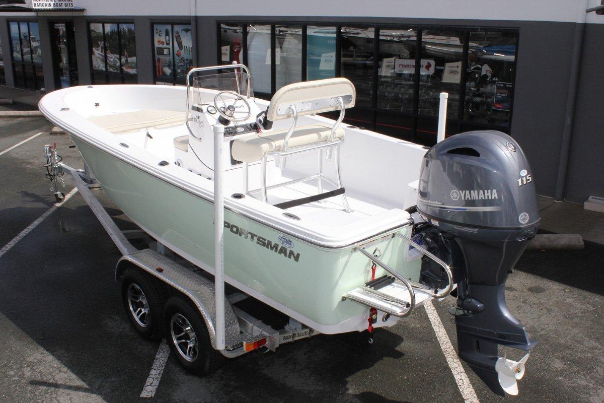 Sportsman Island Reef 19 Centre Console + FF Yamaha F115XB