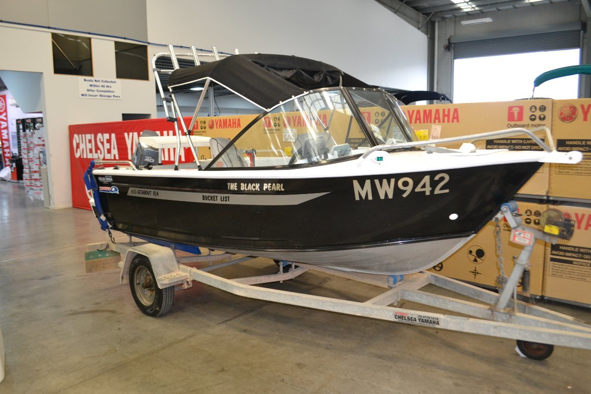Brooker 435 Getabout powered with 40HP Yamaha $13950.00