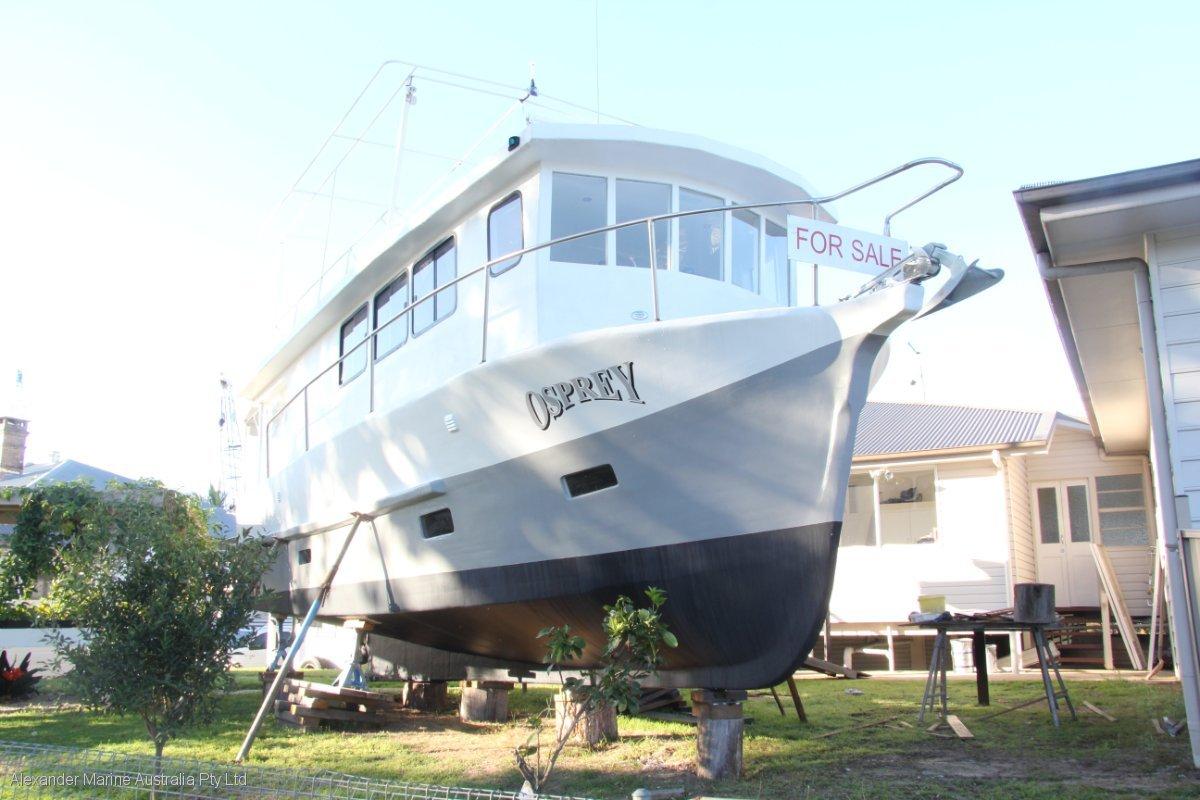 Custom Ex-Trawler motor yacht