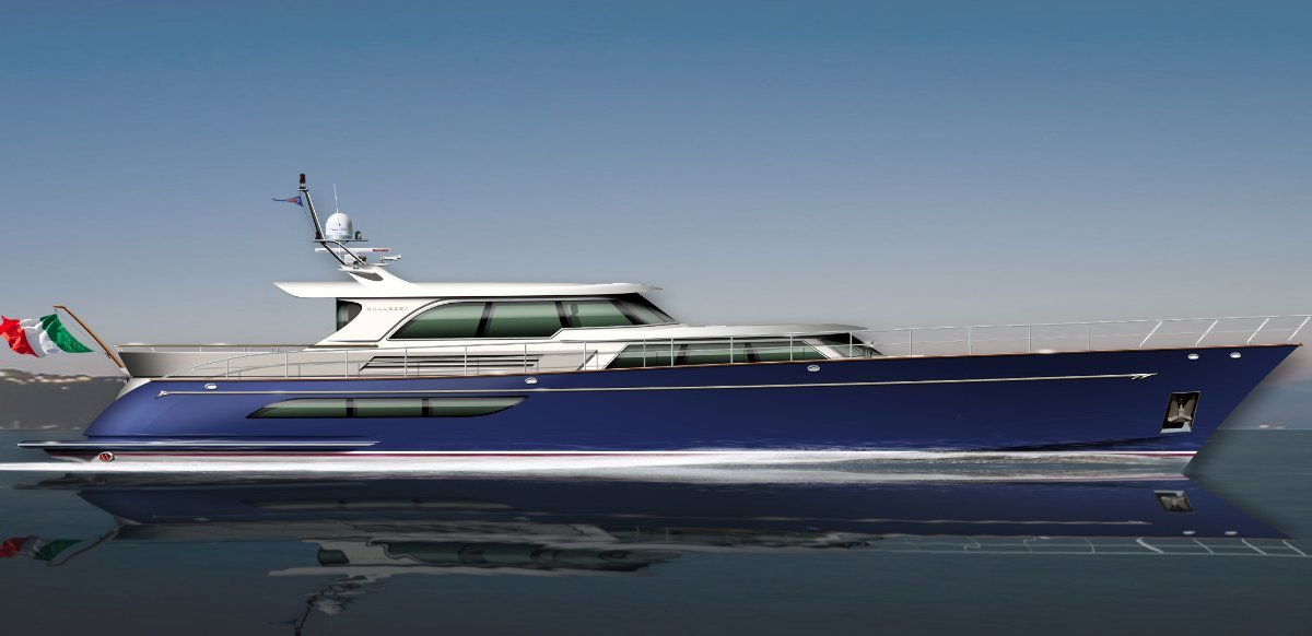 Werner Yacht Design - Bellezza 105:Press full screen arrows to view image